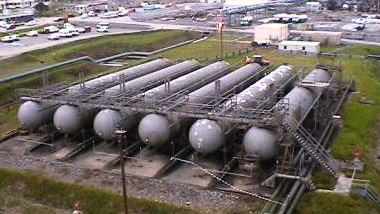 LPG Storage Bullets